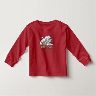 Swan 2 toddler t-shirt