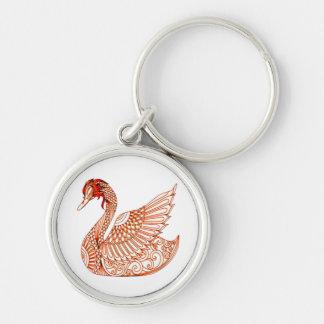 Swan 3 keychain