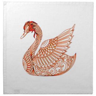 Swan 3 napkin