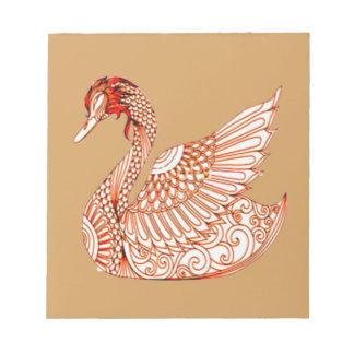 Swan 3 notepad
