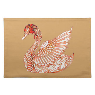Swan 3 placemat