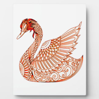 Swan 3 plaque