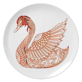 Swan 3 plate