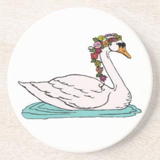 Swan 5 coaster