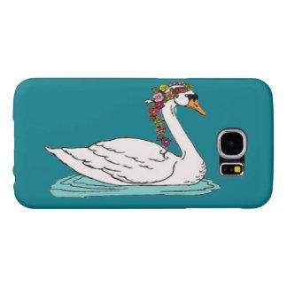 Swan 5 samsung galaxy s6 cases