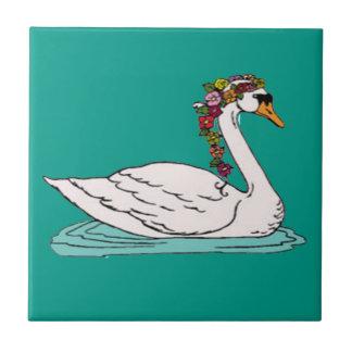 Swan 5 tile