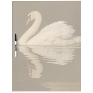 Swan Bird Dry Erase Board