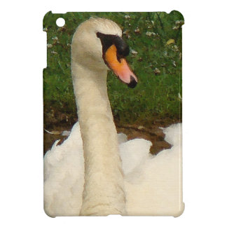 Swan Birds Wildlife Animals Cover For The iPad Mini