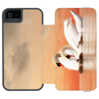 Swan family incipio watson™ iPhone 5 wallet case
