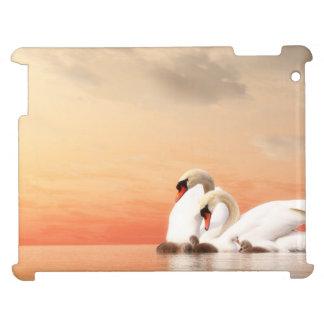 Swan family iPad cover