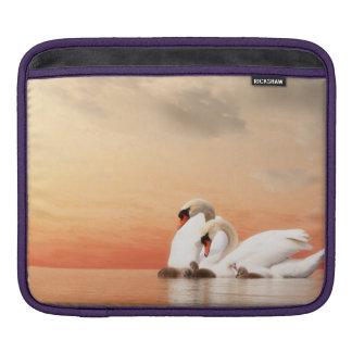 Swan family iPad sleeve