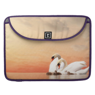 Swan family sleeve for MacBook pro