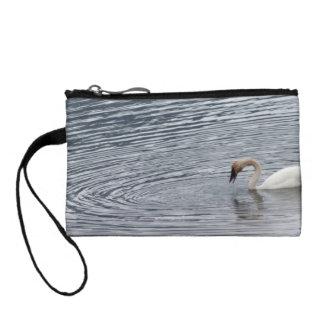 Swan Feeding Coin Purse