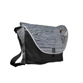 Swan Feeding Commuter Bag