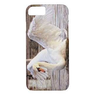 Swan Flapping Wings iPhone 7 Case