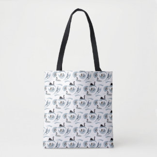 Swan Frenzy All Over Print Bag (choose colour)