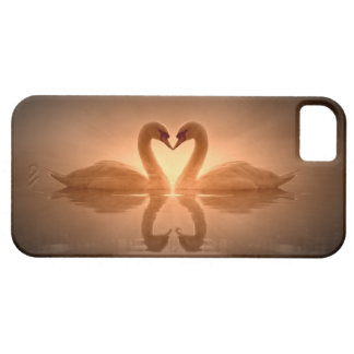 Swan Heart iPhone 5 Cases