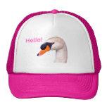 Swan Hello! Gorras