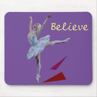 'Swan Lake Ballerina' Mouse Pad
