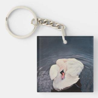 Swan · Lake Keychain