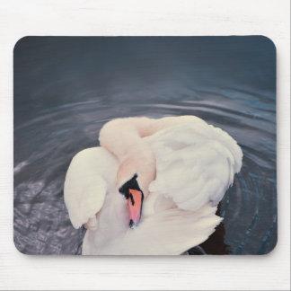Swan · Lake Mouse Pad