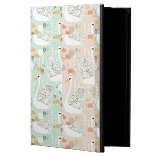 Swan Lily Pond Geo Multi Collage / Andrea Lauren iPad Air Covers