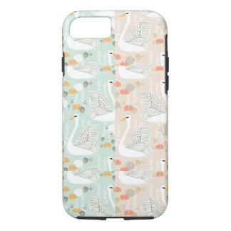 Swan Lily Pond Geo Multi Collage / Andrea Lauren iPhone 7 Case