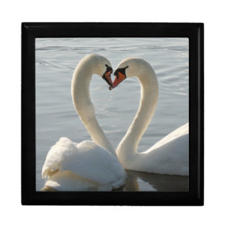 Swan Love Jewelry Boxes