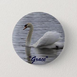 Swan Motivational Gifts 2 Inch Round Button