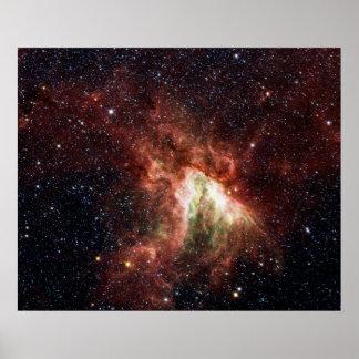 Swan Nebula Poster