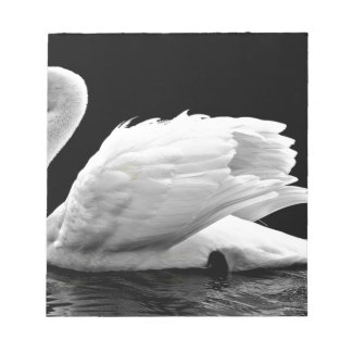 Swan On The Lake Notepad