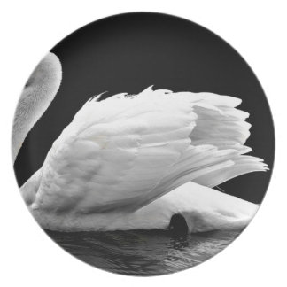 Swan On The Lake Plate