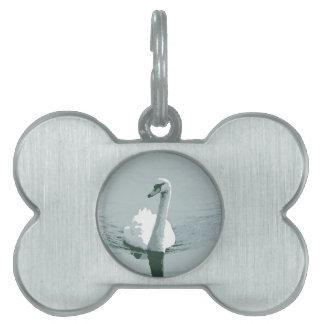 Swan Pet ID Tag