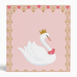 Swan Princess Binder