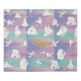 Swan Princess Duvet Cover (Kings Size)