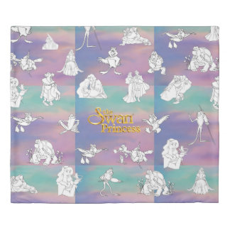 Swan Princess Duvet Cover (Kings Size)