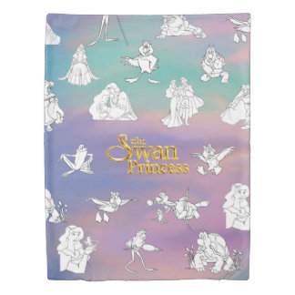 Swan Princess Duvet Cover (Twin Size)