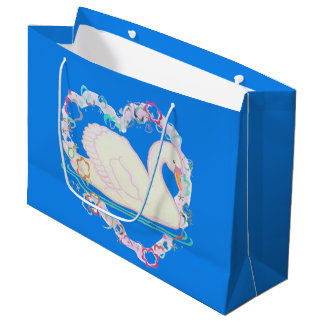 Swan Princess gift bag
