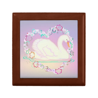 Swan Princess keepsake box
