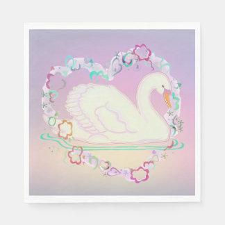 Swan Princess napkins Disposable Napkin