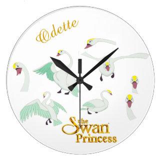 Swan Princess Odette Wall Clock