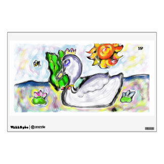 swan princess of her would wall sticker