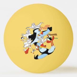 Swan Princess Puffin Ping Pong Ball
