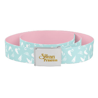 Swan Princess swan pattern belt