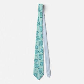Swan Princess tiled tie
