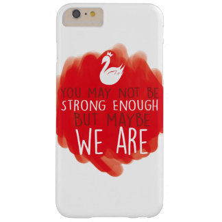 Swan Queen iPhone/iPad Case - We are strong enough
