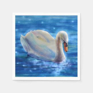 Swan Serenity Paper Napkins