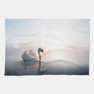 Swan Sunrise Kitchen Towel