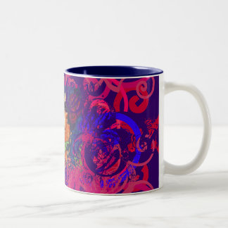swan Two-Tone coffee mug