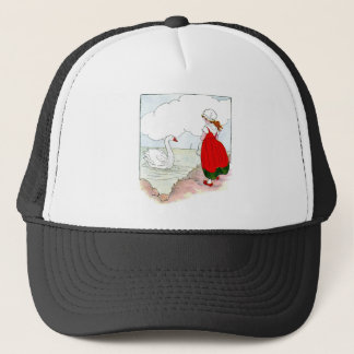 Swan Vintage The Real Mother Goose Trucker Hat